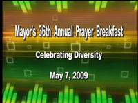 Mayors Prayer Breakfast